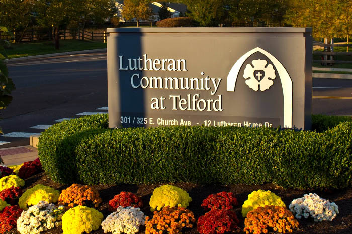 Entrance to Lutheran Community at Telford