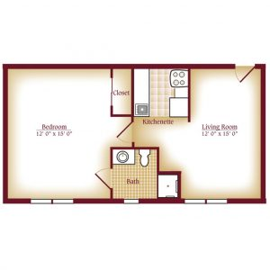 Luther Village One Bedroom