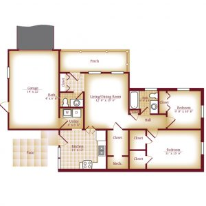 Luther Village Duplex - 2 Bedroom