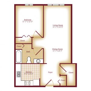 Luther Village Terrace - 1 Bedroom